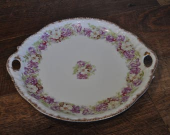 Vintage Decorative Plate - Z.S. & Co. Bavaria