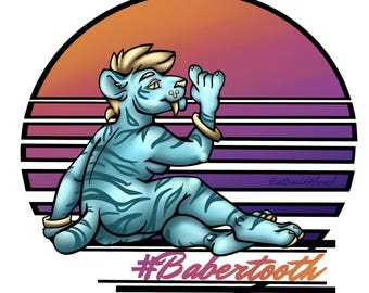 Babertooth - Vinyl Sticker