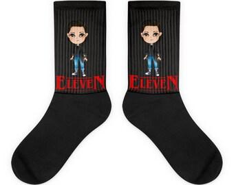 Eleven socks, Eleven gift for women Stranger socks Stranger things 2 gift Stranger things 2 socks, Bithcin 011 Eleven Stranger things socks