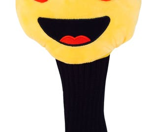 Heart Eye Emoji Putter Cover