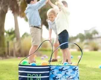 Easter Bucket, Monogrammed Easter Basket, Personalized Easter Basket, Boys Easter Basket, Boys Easter Bucket, Boys Gifts, Easter