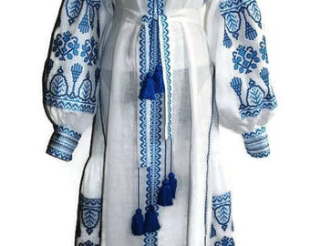 Open Caftan Dress Kaftan Abaya Long embroidered Ethnic Ukrainian Embroidery Vyshyvanka Dress Custom Boho Dress Bohemian Dresses Vishivanka