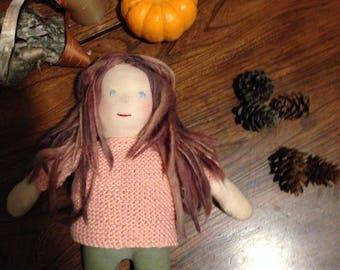 "12"" handmade doll"