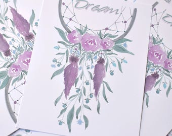"Greeting card ""Dream"""