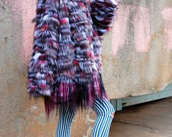 "Fur coat from fox ""Powder"" Win gift!"