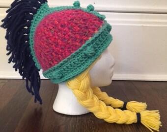 Girls Warrior Princess Hat