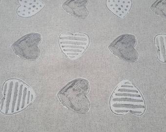 Fabric 50cm x 150cm - heart pounding