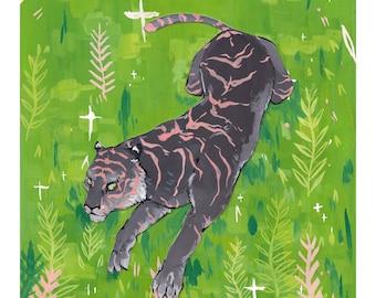 Tiger Jungle Print