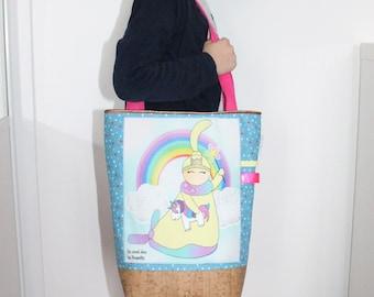 Kids bag, tote bag
