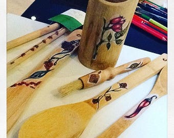 Hand Drawn utensils