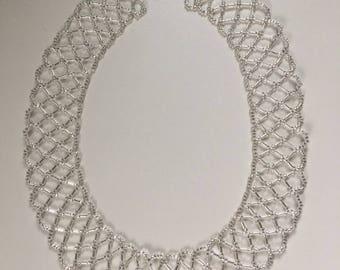 Lattice Collar Necklace