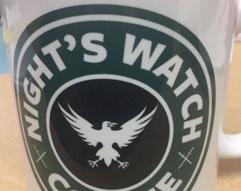 Game of Thrones Nights Watch Coffee Mug