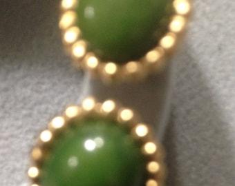Real Nephrite Jade Earrings