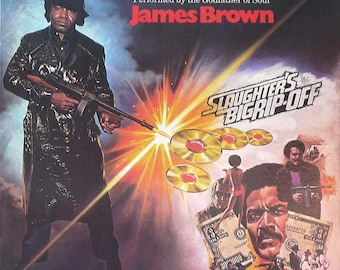 "Soundtrack  James Brown ""Slaughter's Big Rip-Off"" Vinyl Record LP"