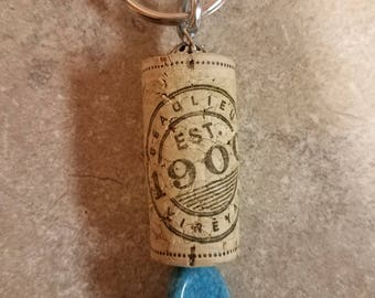 Wine Cork Key Chain #4