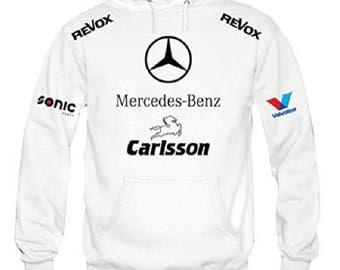 Mercedes benz hoodie etsy for Mercedes benz hoodie