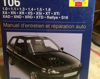 Haynes Peugeot 106 book