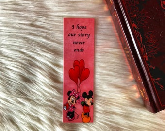 Mickey and Minnie {LIMITED TIME ONLY}- Bookmark
