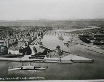 Germany, Koblenz  ~  Vintage Postcard ~ Real Photograph - Unused