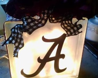 Alabama Team Lamp