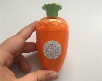 Cheeky Carrot (unscented; thick/glossy slime)