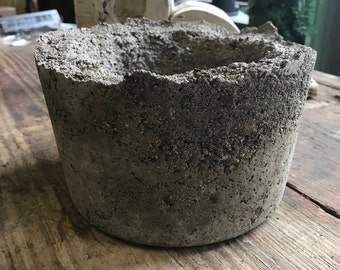 Hypertufa Pot