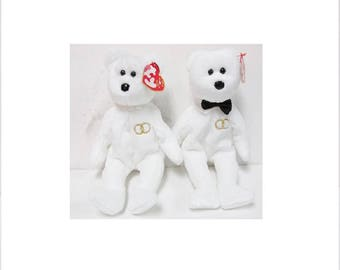 Ty Beanie Babies Mr and Mrs