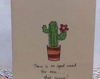 That Succs! Cactus Card