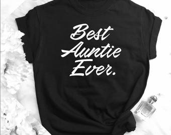 Matching Shirts, Group Tank Tops, Birthday Shirts, Best Friend Gift, Women's Clothing, BAE Tees, New Auntie Shirts, Aunt gift V16
