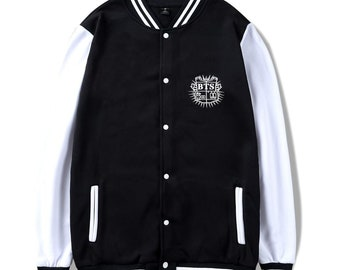 BTS Unisex Harajuku Hoodies, BTS Sweatshirt, Bangtan Boys, Bulletproof Boy Scouts, BTS Blood Sweat And Tears, Korean clothes, Free Gift