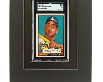 Sports Card Frame for an SGC Graded Card