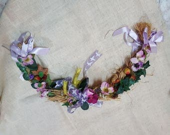Composition of Flowers Braid
