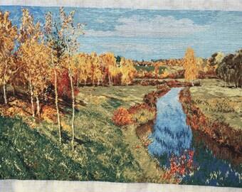 Golden Autumn - after Levitan