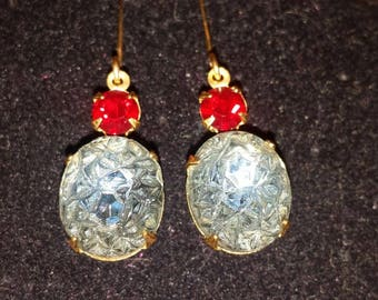 Vintage Lava Rock Crystal Beauties!