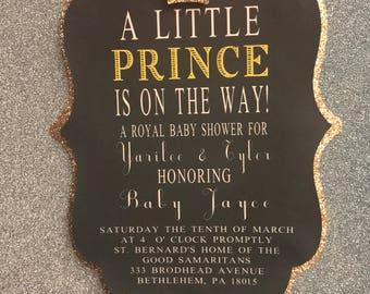 Baby Boy Baby Shower Invites