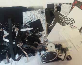 Black & White Embellishments