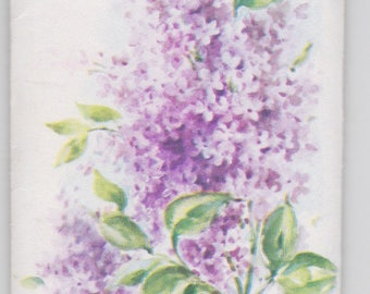 Vintage French Lilac sachet; a Treasure Masters original