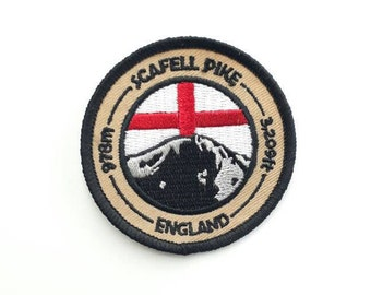 Scafell Pike Embroidered Patch