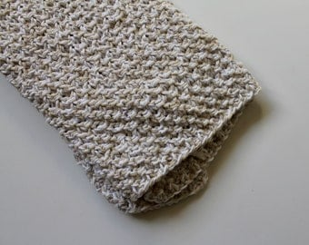 the spring cleaning dish towel knitting pattern