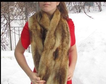 Fox fur scarf/chale