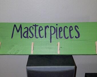 Masterpieces Art Display