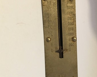 VINTAGE CHATILLION SCALE