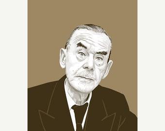 Thomas Mann - Author Poster Print