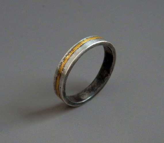 like this item - Gold And Silver Wedding Rings