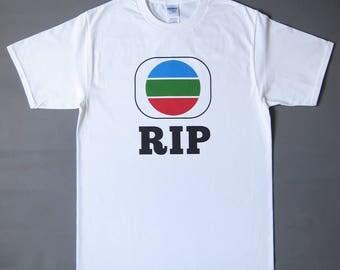 TV(X) RIP shirt