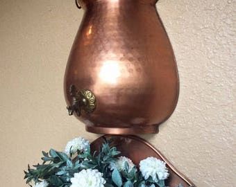 French Garden Decor Vintage Copper Kitchen Fountain