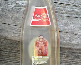 MOREHOUSE 125th Anniversary Vintage Coke Bottle Slumped Spoon Rest