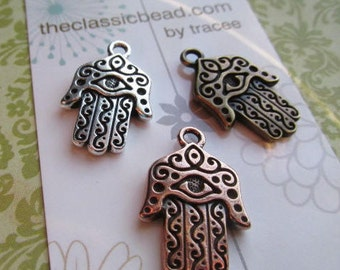 Choose Color Hamsa Pendant, Hamsa, Hamsa Pendant, Hamsa, Hamsa Hand, Hamsa Symbol, Protection symbol, Protection