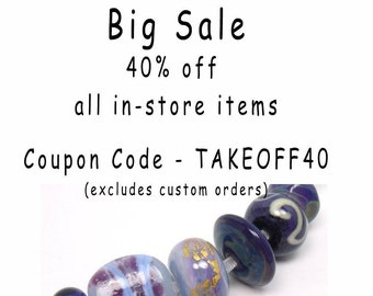 Lampwork beads  -  Eclectics in Purple  -  violet, mauve, lilac, lavender, gold leaf, silver rich glass, loose glass beads, glass bead mix