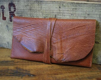 Wallet, pouch, companion leather rustic